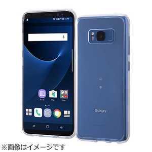 レイアウト Galaxy S8用 ハイブリッドケース クリア RTGS8CC2C