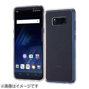 レイアウト Galaxy S8+用 ハイブリッドケース クリア RTGS8PCC2C