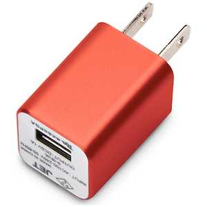 PGA iCharger USBアダプター(レッド) レッド PGWAC10A06RD