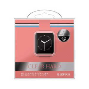 MSソリューションズ LEPLUS Apple Watch 42mm ハードケース CPK LPAW42HGCPK