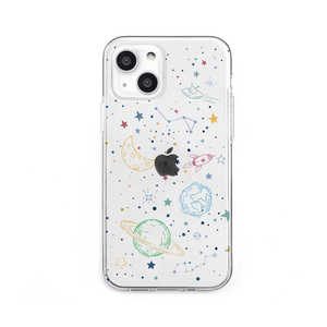 ROA iPhone 13 2眼 ソフトクリアケース COSMOS Dparks DS21144I13