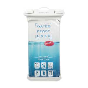 OWLTECH MOTTERU スマートフォン用防水ケース IPX8取得で完全防水 MOTTERU ホワイト ホワイト MOTWPC002WH