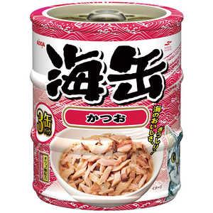 アイシア 海缶 ペットフード 猫用 ウミカンミニ3Pカツオ180G