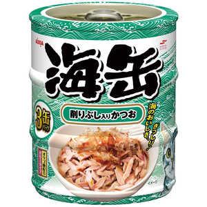 アイシア 海缶ミニ3P 削りぶし入りかつお 60g×3缶 猫 ウミカンミニ3Pケズリブシカツオ