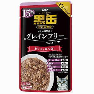 アイシア 黒缶パウチ 15歳からのまぐろとかつお BPG-3 猫 15サイクロカンPマグロトカツオ70G