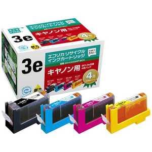 エコリカ リサイクル・リユース製品 インクカートリッジ キヤノン互換製品 ブラック ECICA034PBOX