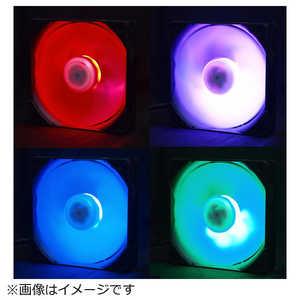 サイズ ケースファン[120mm / 800rpm] KazeFlex120 RGB SU1225FD12LRRD
