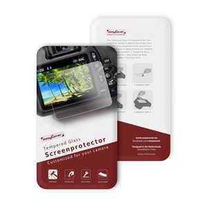 ディスカバード イージーカバー 強化ガラス 液晶保護フィルム EOS M100用 EOSM100