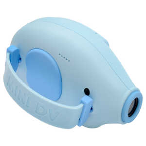 ハイテックジャパン HELIWAY Mini Kids Camera ELEPHANT (ミニキッズカメラぞうさん) ブルー ブルー HWC55BL