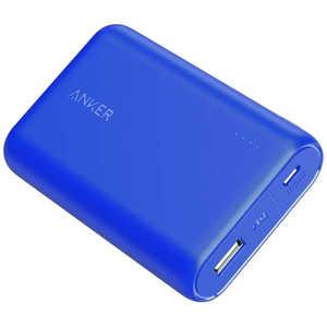 アンカー Anker PowerCore 10000 blue A1263031-9 [10000mAh/1ポート/microUSB/充電タイプ] WEB専用 A12630319