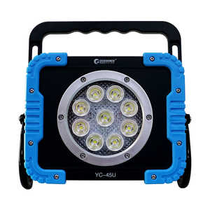GOODGOODS 充電式LEDサーチライト YC45U