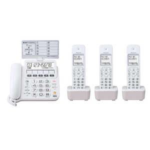 パイオニア デジタルコードレス留守番電話機 TF-SE16T(W) 電話機