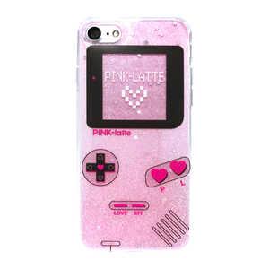 エムディーシー iPhone8/7PINK-latte [ゲーム/ピンク] ピンク MD74232PNK