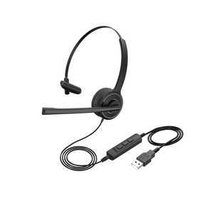 MPOWJAPAN ヘッドセット ORIGINAL SELECT ブラック [φ3.5mmミニプラグ+USB /片耳 /ヘッドバンドタイプ] BK OSTHSN11