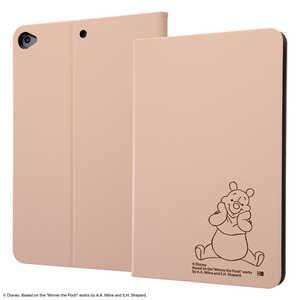 INGREM iPad mini 5用 レザーケース ディズニー プーさん6 IJDPA12LCBEPO043