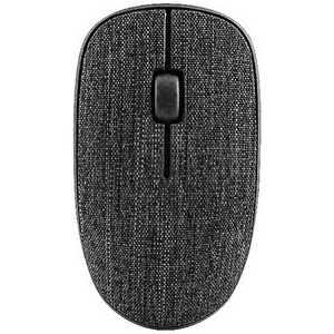 UNIQ ワイヤレス光学式マウス FABRIC cover (3ボタン) ダークブラック 3510PLUSDB