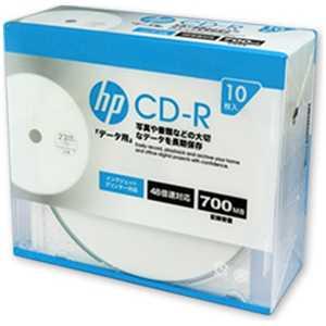 HP 1~48倍速対応 データ用CD-Rメディア (700MB・10枚) 80R10P48 CDR80CHPW10A