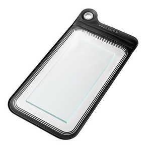 坂本ラヂヲ スマートフォン用[幅 95mm]PRECISION Splash Proof Case Large Black SPC105BK