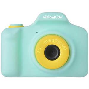 FOX VisionKids HappiCAMU+ ハピカムplus 子供用カメラ Japanese グリーン グリーン JP052