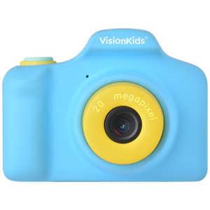 FOX VisionKids HappiCAMU+ ハピカムplus 子供用カメラ Japanese ブルー ブルー JP050