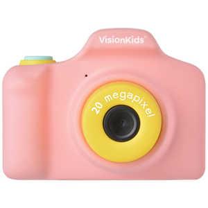 FOX VisionKids HappiCAMU+ ハピカムplus 子供用カメラ Japanese ピンク ピンク JP051
