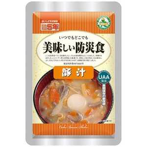 アルファフーズ 美味しい防災食 豚汁 180g [0054]