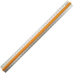 プラムネット ピタットルーラー30cm オレンジ 640022