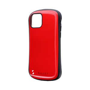 MSソリューションズ iPhone 11 Pro 5.8インチ NEW PALLET 耐衝撃ケース レッド レッド LPIS19PLRD