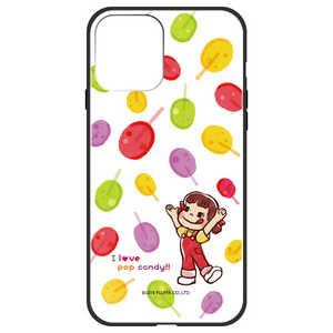 藤家 iPhone 12/12 Pro 6.1インチ対応 不二家 ガラスハイブリッド F. ポップキャンディ キャンディ GHP7050BKFIP12MAX