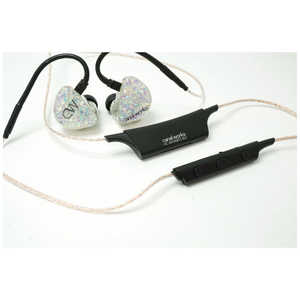 CANALWORKS bluetoothイヤホン カナル型[ワイヤレス(左右コード)/Bluetooth] CWU73LVBT2
