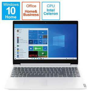 レノボジャパン Lenovo IdeaPad L360i Celeron 256GB 15.6 ブリザードホワイト I#O有#WH 82HL0093JP
