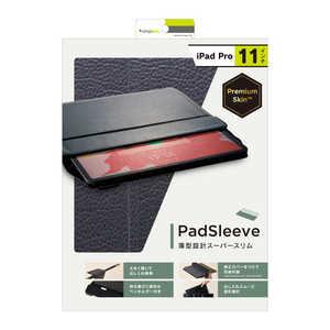 トリニティ iPad Pro 11インチ [PadSleeve] スリーブケース ブラック TRIPD18SPSNBK