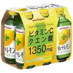 ポッカサッポロフード&ビバレッジ キレートレモン キレートレモン 6本P VC キレートレモン6P