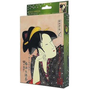 浮世絵シリーズ 歌麿ライン 椿油+抹茶 10枚