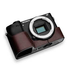 GARIZ SONY α6400/6300 兼用 本革カメラケース XSCHA6400BR