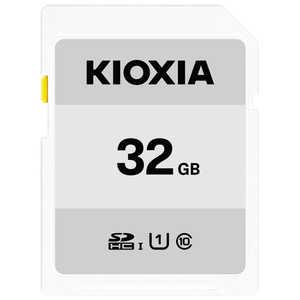 KIOXIA SDXC/SDHC UHS-1 メモリーカード 32GB R50 KSDBA032G