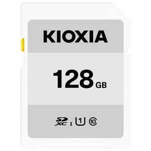 KIOXIA SDXC/SDHC UHS-1 メモリーカード 128GB R50 KSDBA128G