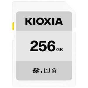 KIOXIA SDXC/SDHC UHS-1 メモリーカード 256GB R50 KSDBA256G