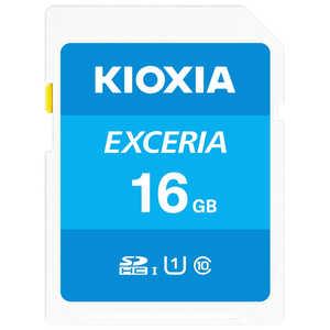 KIOXIA SDXC/SDHC UHS-1 メモリーカード 16GB R100 KSDUA016G