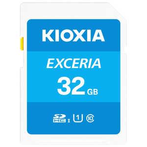 KIOXIA SDXC/SDHC UHS-1 メモリーカード 32GB R100 KSDUA032G