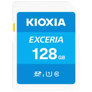 KIOXIA SDXC/SDHC UHS-1 メモリーカード 128GB R100 KSDUA128G