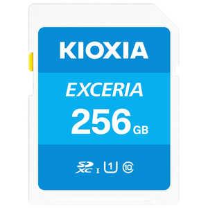 KIOXIA SDXC/SDHC UHS-1 メモリーカード 256GB R100 KSDUA256G