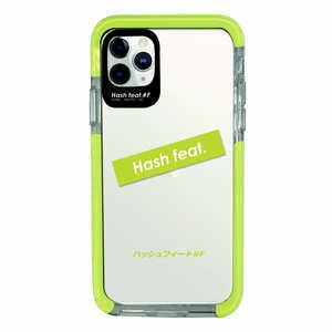 サムライワークス iPhone11Pro Ultra Protect Case Light Green logo Hash feat.#F グリーン HFCTIXI03LG