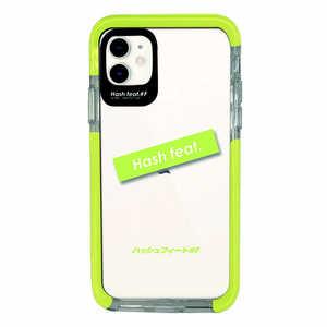 サムライワークス iPhone11 Ultra Protect Case Light Green logo Hash feat.#F グリーン HFCTIXIR03LG