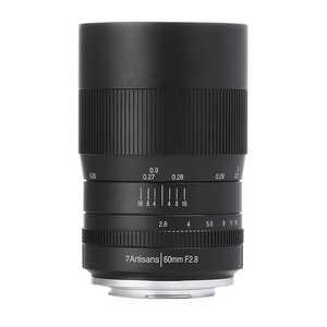 7Artisans 60mm F2.8 Macro [フジフイルム用] 製品画像