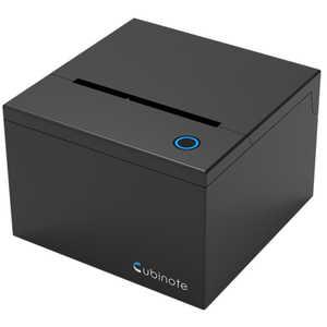 ビーラボ WiFi & Bluetooth対応 付箋プリンター Cubinote PRO Black CG180BK