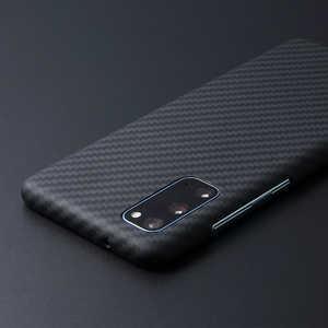 DEFF Galaxy S20+用 アラミド繊維ケース「DURO」スペシャルエディション マットブラック マットブラック DCSGS20PKVSEMBK