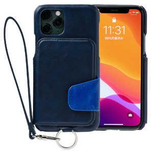 トーモ RAKUNI Soft Leather Case for iPhone 11 Pro ネイビー RAK19IPSPNVY