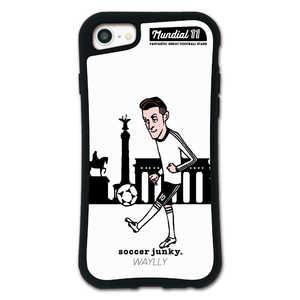 ケースオクロック iPhone6/6s/7/8 WAYLLY-MK × サッカージャンキー/ジェリー 【セット】 D MKSJJSET678D