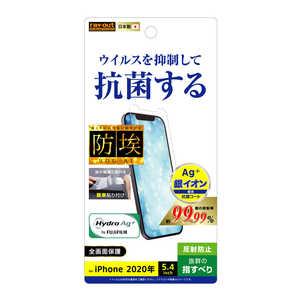 レイアウト iPhone 12 mini 5.4インチ対応 フィルム 指紋防止 抗ウイルス 反射防止 RTP26FAGPH